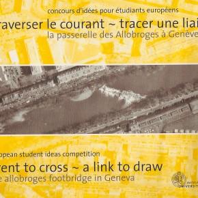 Pasarela Allobroges en Ginebra
