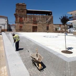 Plaza Conde de Montijo en El Gordo (Cáceres)