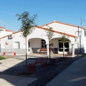 Calle los Olivos en Carbajo (Cáceres)
